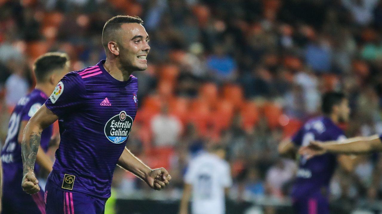 285 - Valencia-Celta (1-1) de Primera el 26 de septiembre del 2018