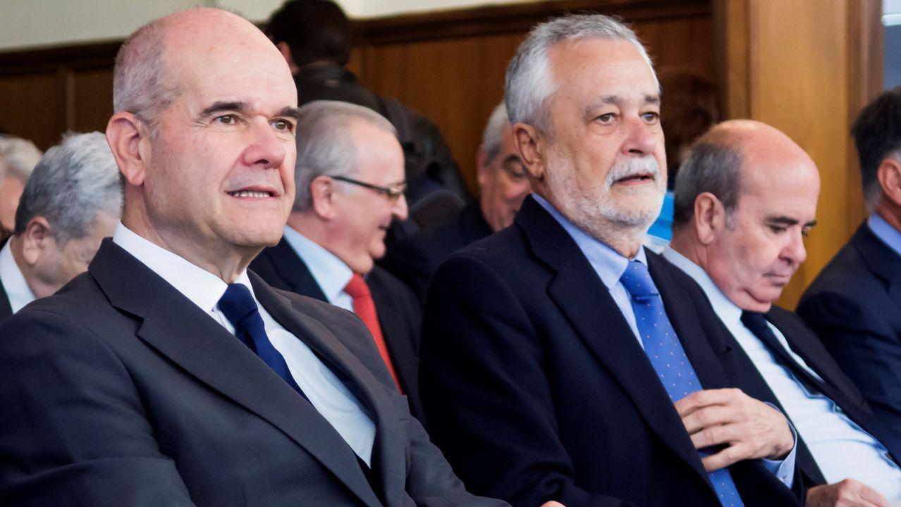 Las penas del caso de los ERE, una a una.Manuel Chaves y José Antonio Griñán, expresidentes de la Junta de Andalucía, procesados por el caso de los ERE