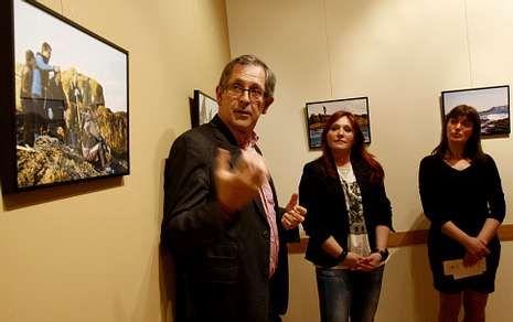 La exposición de Mónica Noya, que fue inaugurada ayer, podrá verse hasta el 10 de mayo.