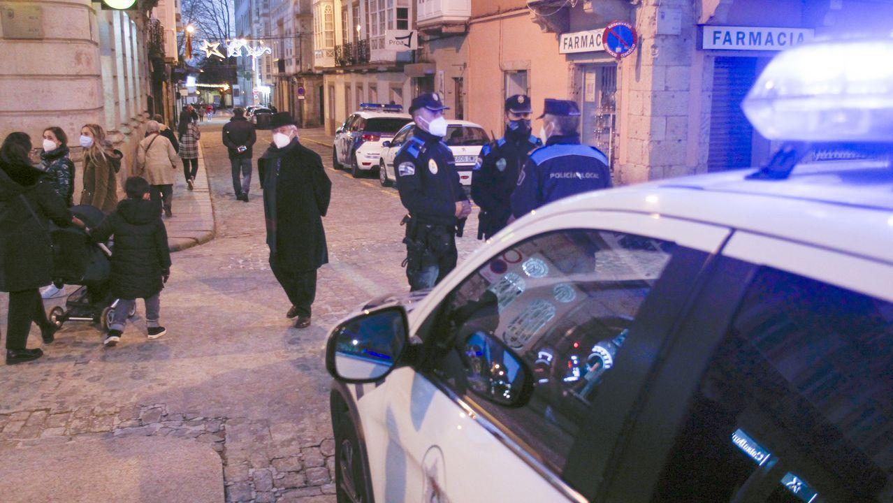 Vuelven los controles, escasos en el primer día de cierre perimetral.Bellavista Gijón
