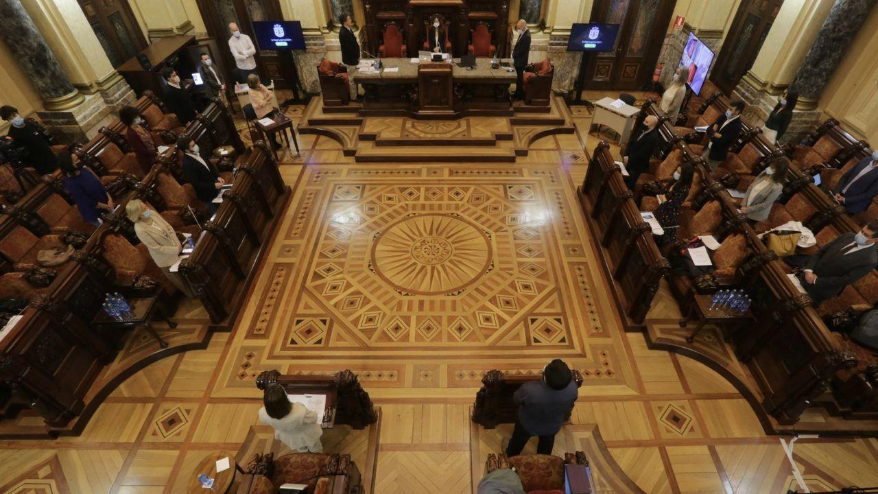 EN DIRECTO   Primer pleno ordinario en el Concello de A Coruña tras declararse el estado de alarma
