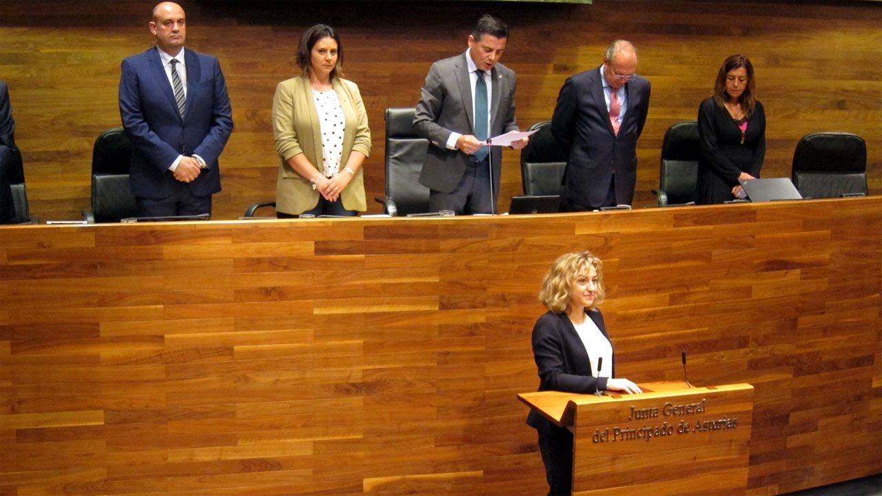 Patricia García Villanueva jura como diputada de la Junta General del Principado