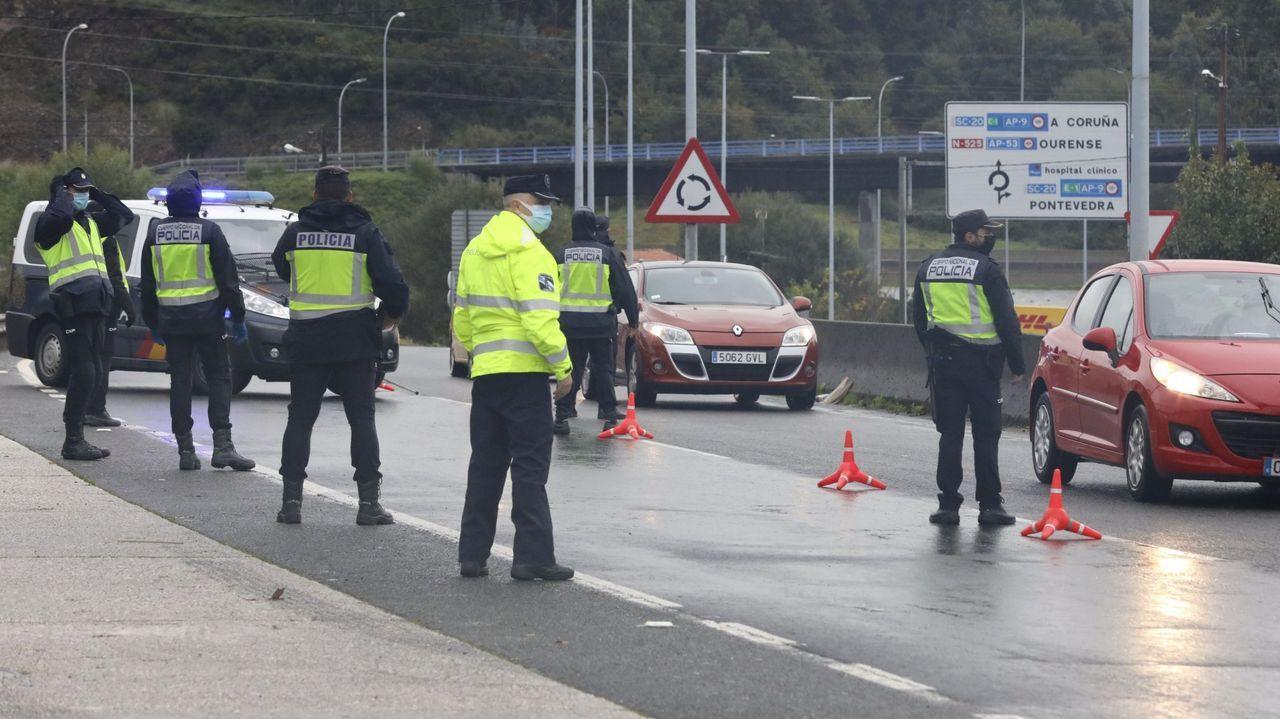 La Panera.La Policía Local establece controles en las principales vías de entrada a Lugo