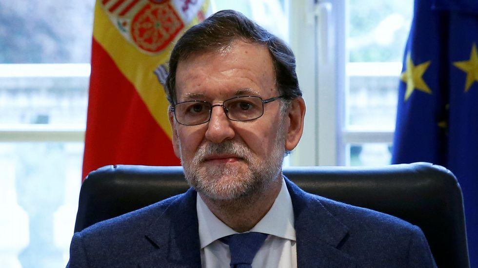 Rajoy participa enun acto de Nuevas Generaciones en Ourense.Segunda reunión del verano entre Rajoy y Rivera