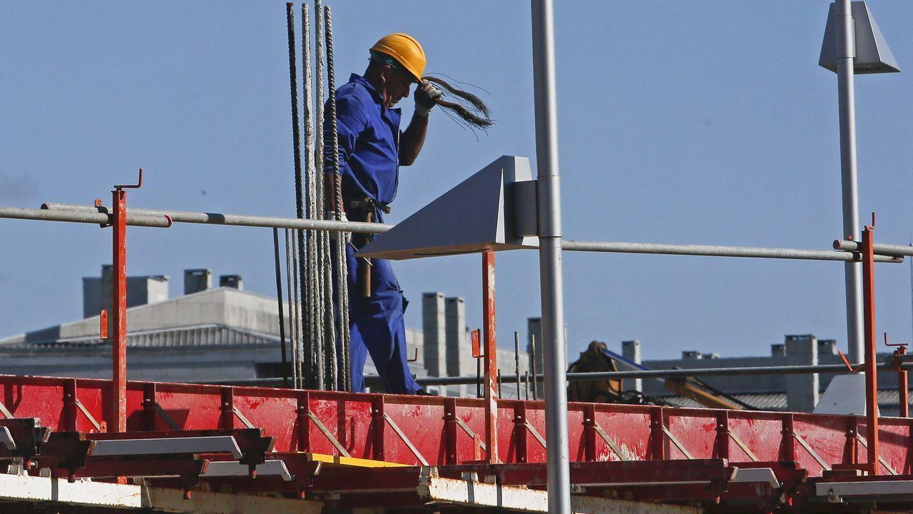 Así es el arrastrero construído en Marín para la holandesa Osprey.La construcción es uno de los pilares del empleo en la comarca de Pontevedra