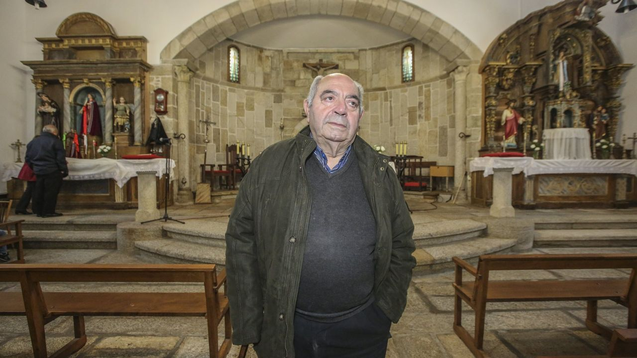 Aquilino Fernández, párroco de Malpica