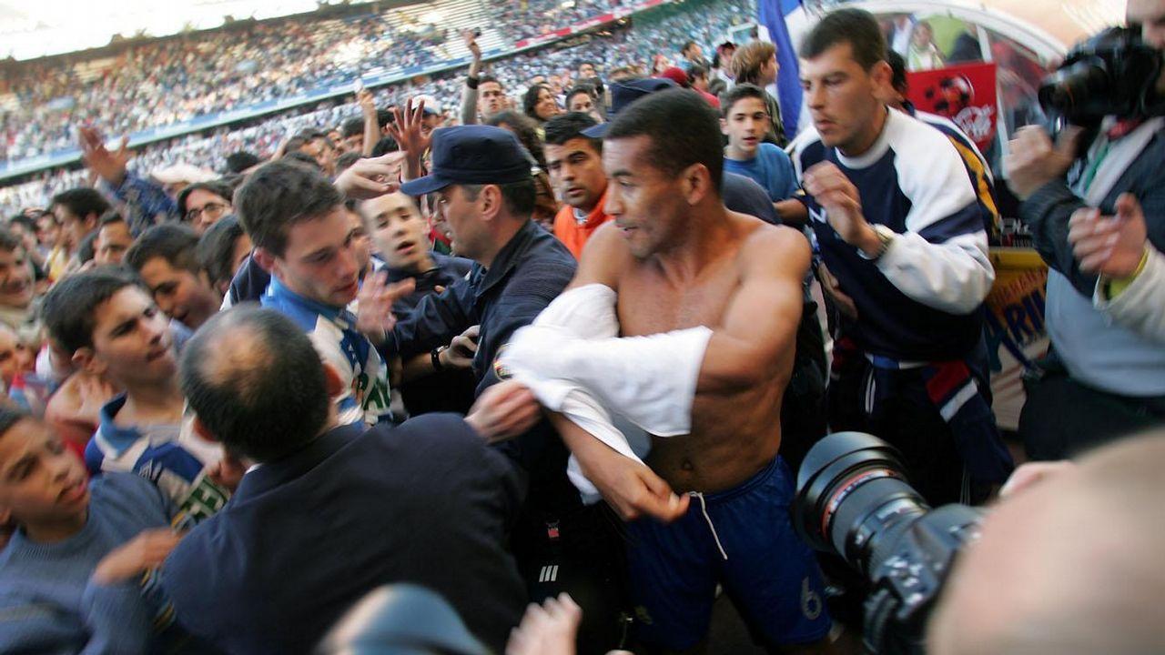 Mauro Silva el día de su retirada