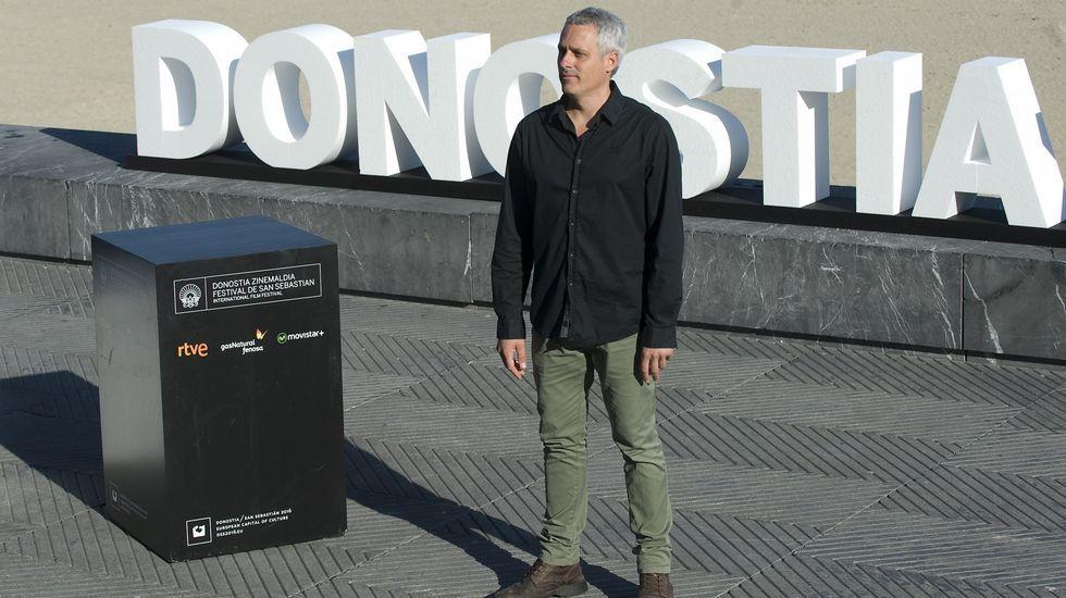 El Festival de Cine de San Sebastián entrega sus galardones.Mario de la Torre durante las jornadas.