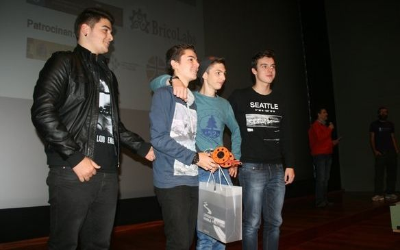 Los alumnos premiados son estudiantes de ESO y bachillerato.