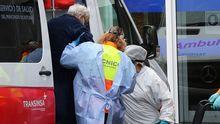 Un hombre ingresa en urgencias en el hospital de Cabueñes