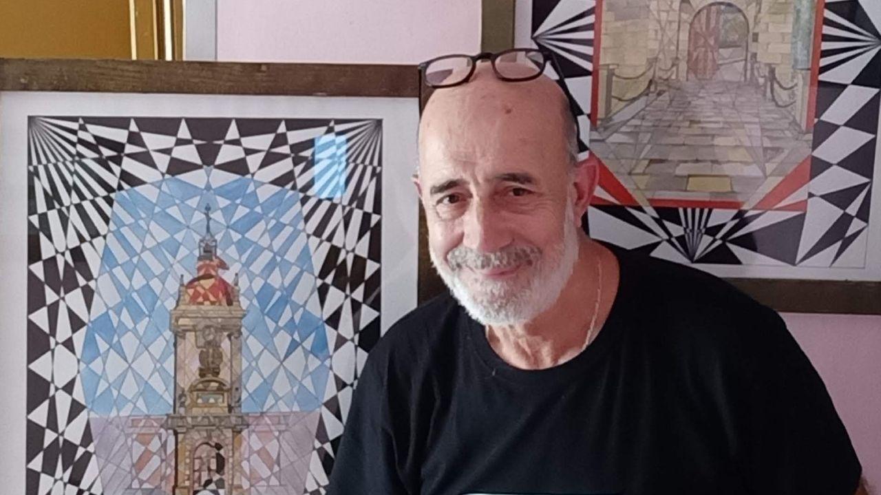 La sala de exposiciones del Puerto abre hoy una muestra del pintor