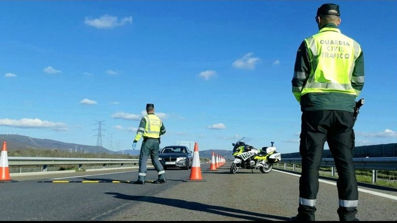 En la A-52 detectaron a un conductor portugués que había consumido drogas