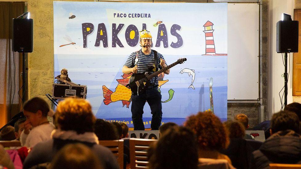 La primera «filmersión» se rueda en Baleira.Pakolas vuelve a Guitiriz con cuentos y rock para todos los públicos