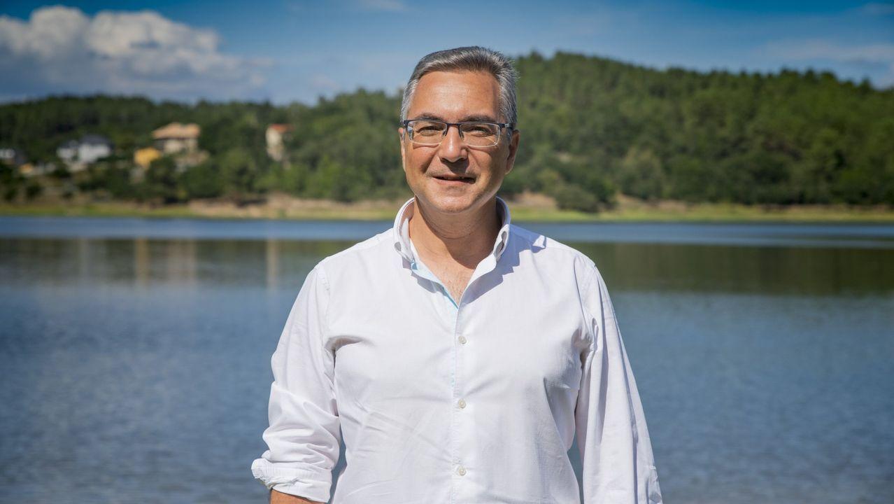 El alcalde de Pereiro de Aguiar, Luis Menor