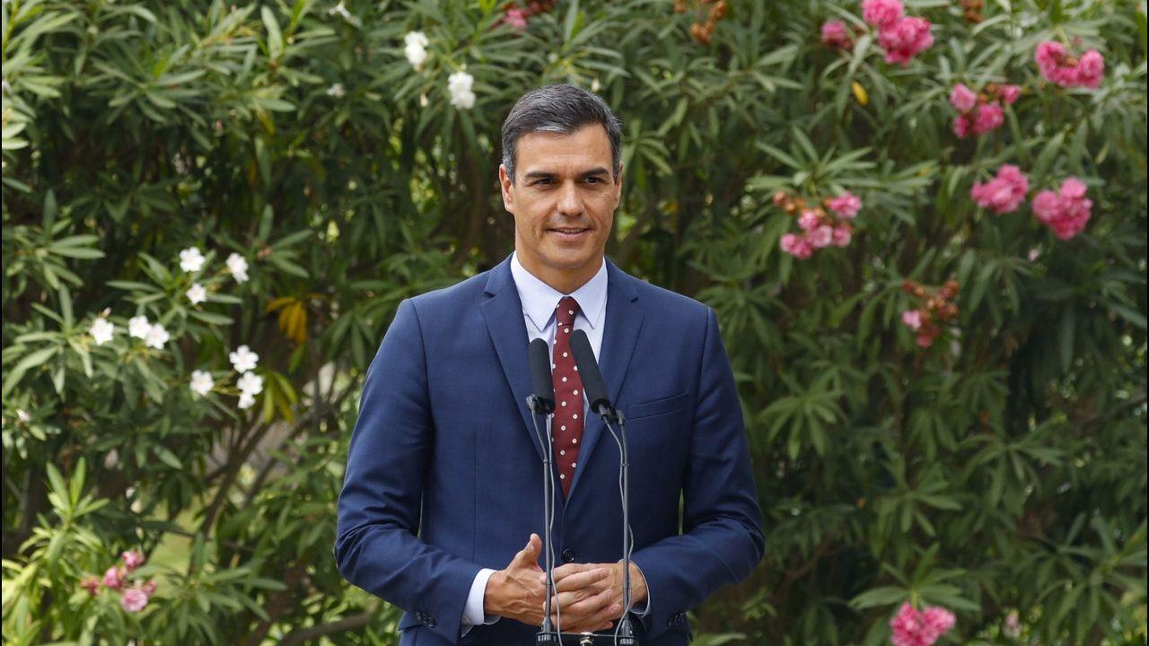 Pedro Sánchez se va de vacaciones a 44 días de que se agote el plazo para la investidura.Pedro Sánchez, el pasado día 7, en los jardines del palacio de Marivent
