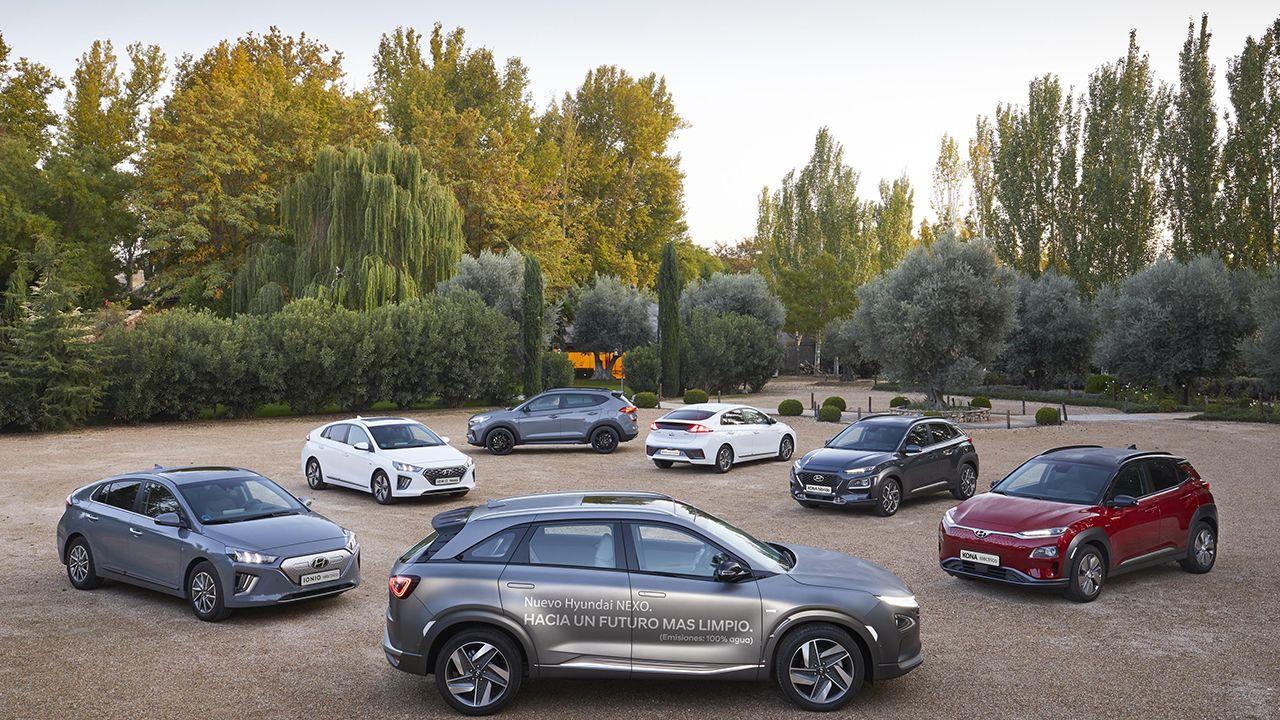 Superdeportivos en el Salón de Ginebra.Hyundai es la marca que más coches «eco fiendly» produce en España