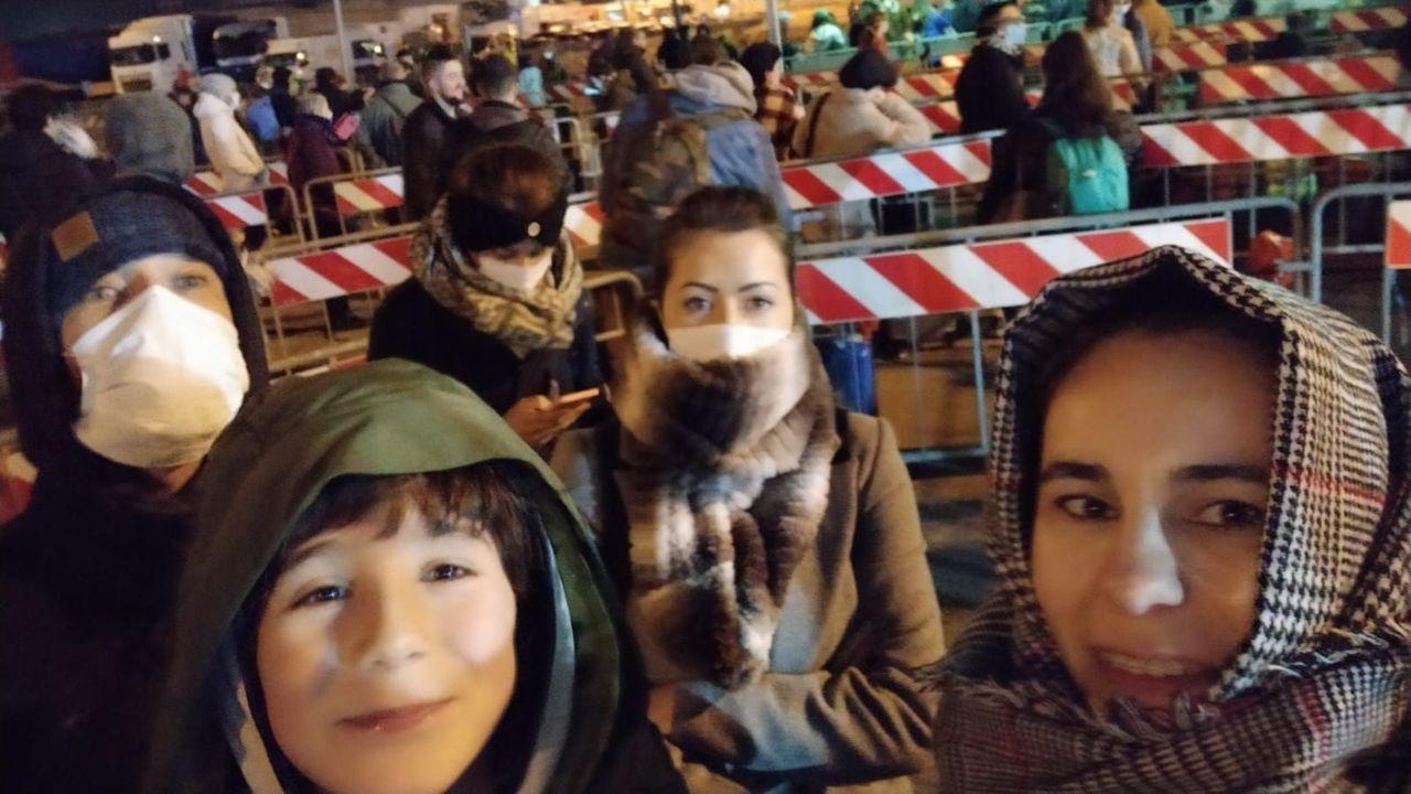 Chloe, un milagro en la zona cero del coronavirus.Iolanda y su familia regresaban anoche en ferri desde Italia