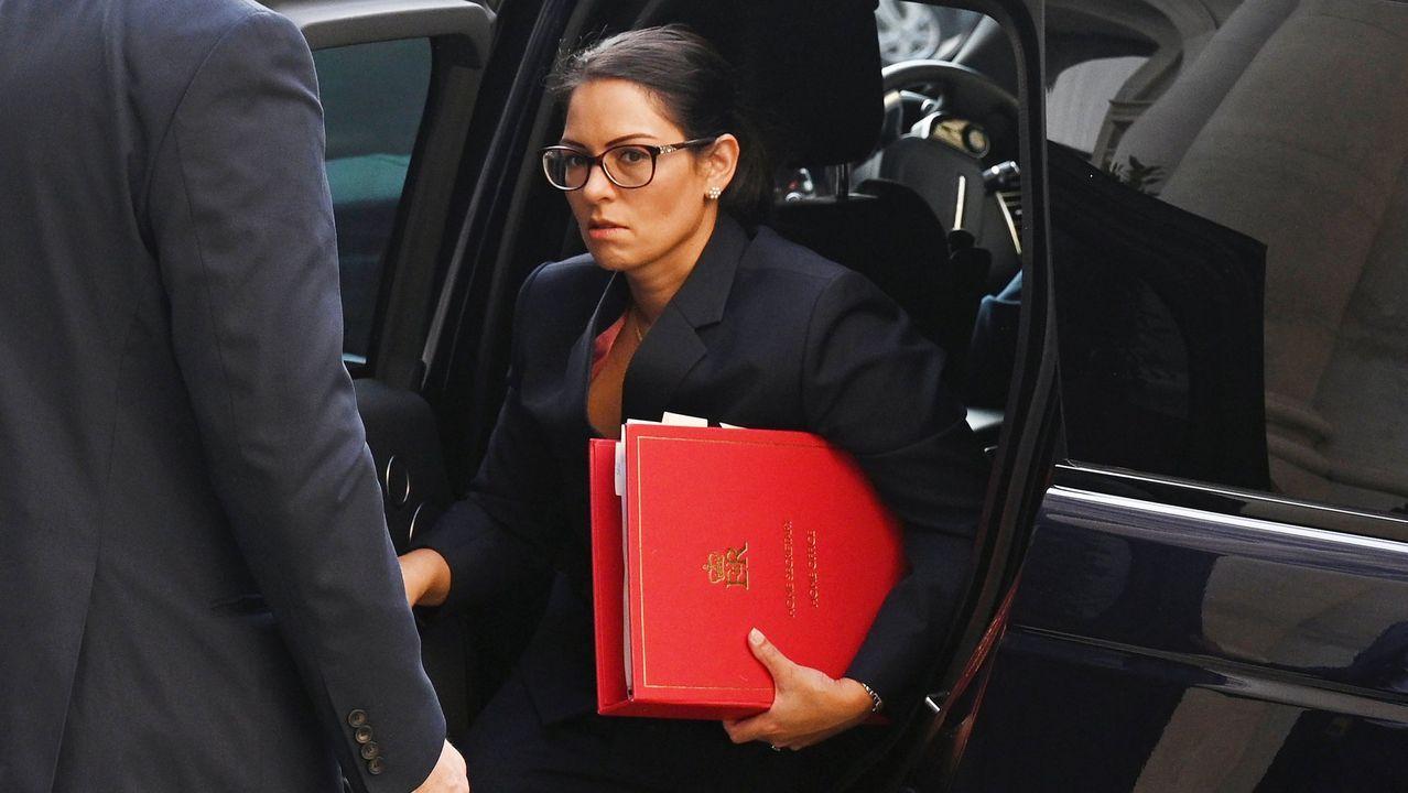 La ministra de Interior británica, Pitri Patel