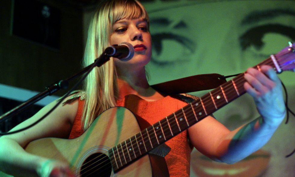 La canadiense Basia Bulet ya actuó en otras ocasiones en diferentes escenarios de Vigo.