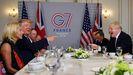 Trump y Johnson, en la cumbre del G7 celebrada en el 2019 en Biarritz