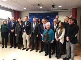 Presentación de la nueva asociación de comerciantes de Oviedo