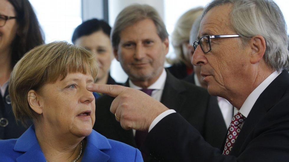 Tsipras y Merkel acercan posturas en Berlín