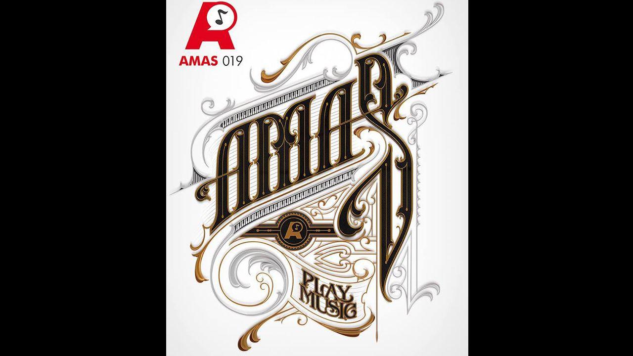 Gascona.Cartel de los Premios Amas 2019