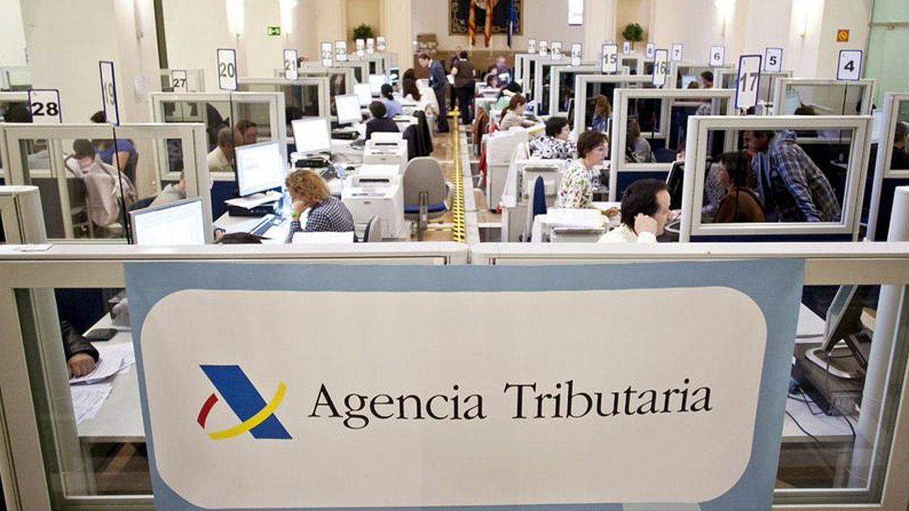Una oficina de recaudación de la Agencia Tributaria