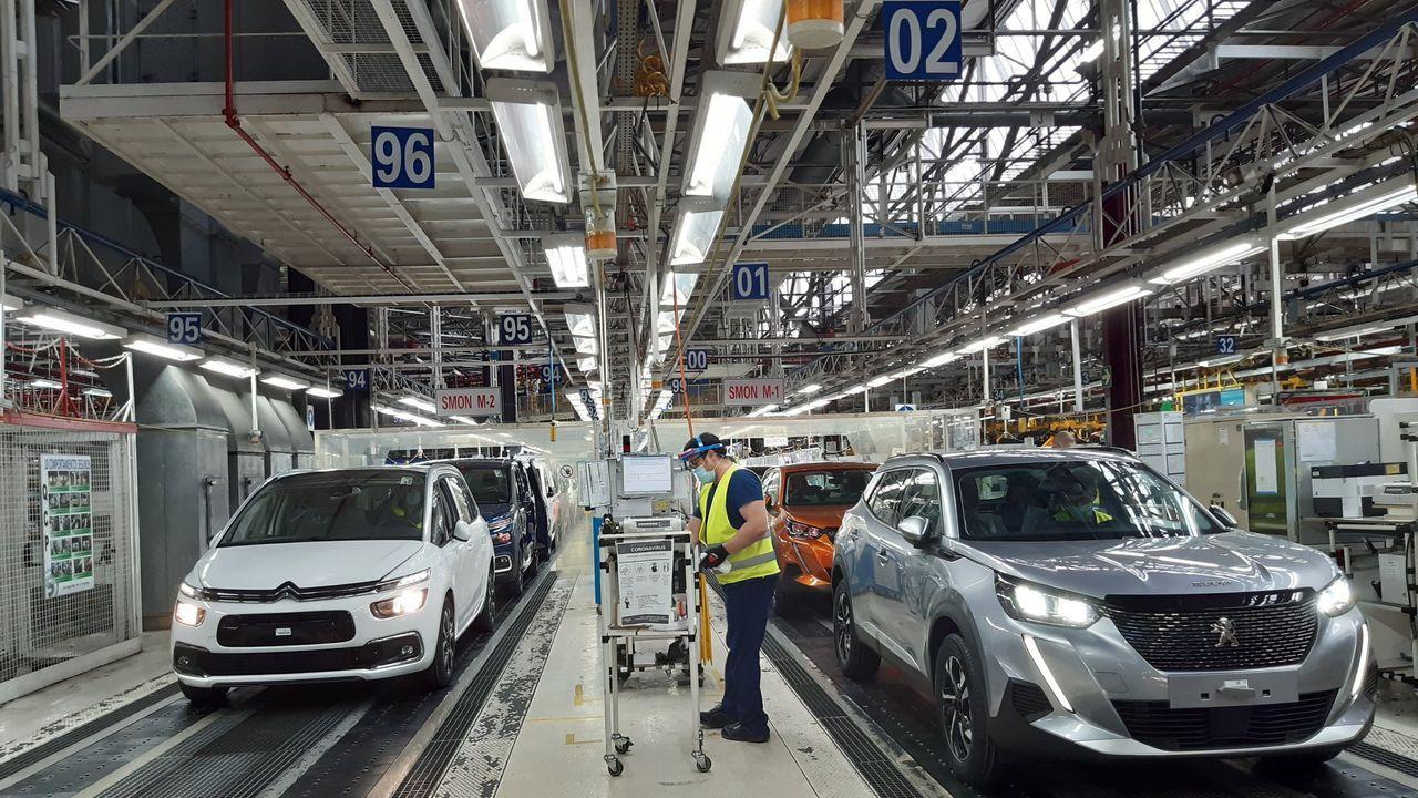 Vuelta al trabajo en la fábrica de Balaídos tras la crisis de coronavirus