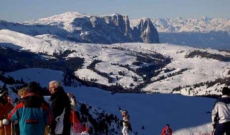 En este lugar están las grandes estaciones de esquí de Italia.