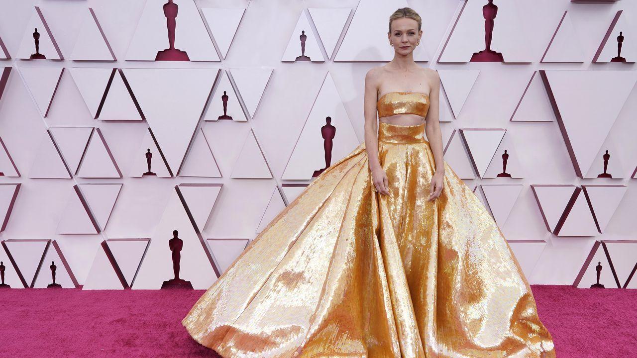 Carey Mulligan, nominada a Mejor actriz por «Una joven prometedora». Lleva un Valentino alta costura
