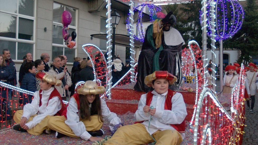 Las cabalgatas de Reyes en la Ribeira Sacra, en fotos