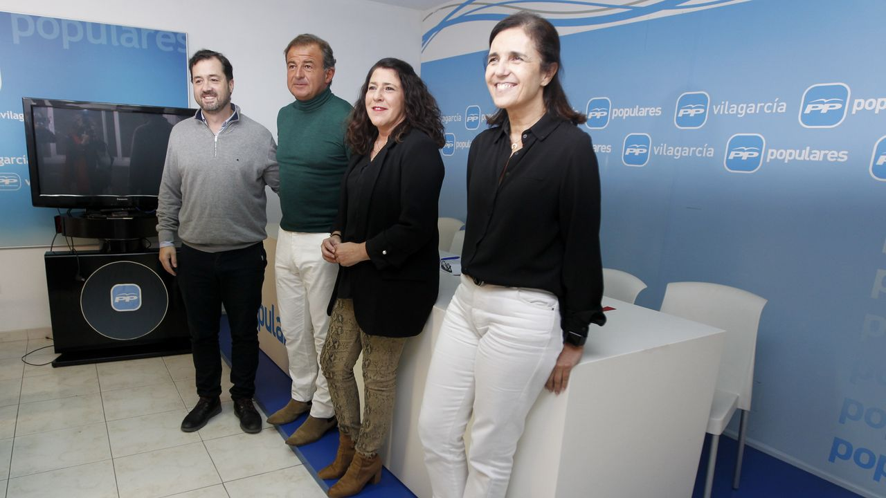 Todos los Gobiernos de Feijoo.Nadia Calviño junto a Gonzalo Caballero