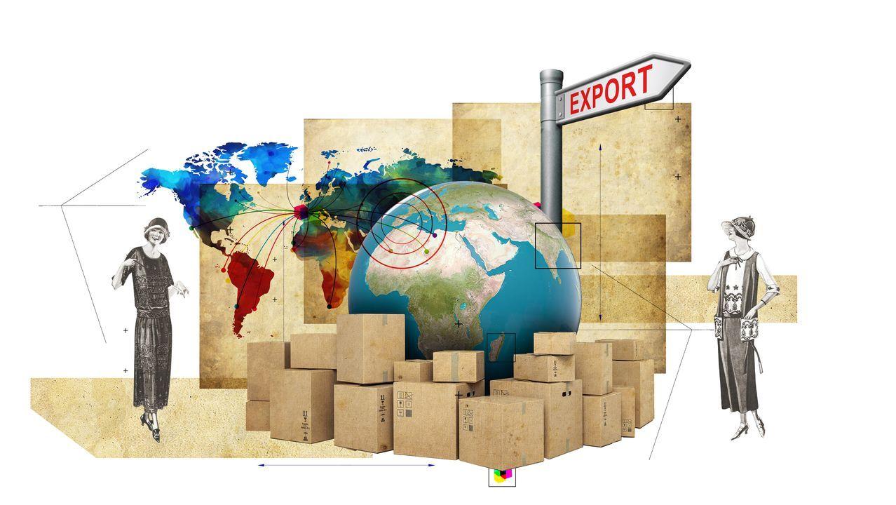 Mili.Imagen de contenedores de exportación