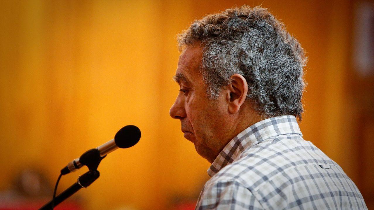 El exconsejero, José Luis Iglesias Riopedre.Presentación da Semana de Cine de Lugo