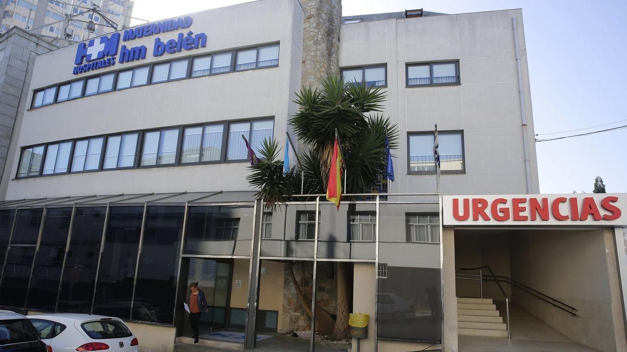 Imagen de la residencia de mayores de Cangas, que fue inetrvenida por la Xunta la pasada semana