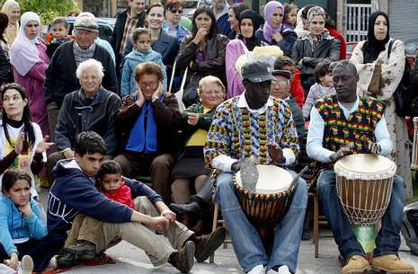 Imagen de archivo de una de las ferias de Interculturalidad que Arteixo celebra cada año.