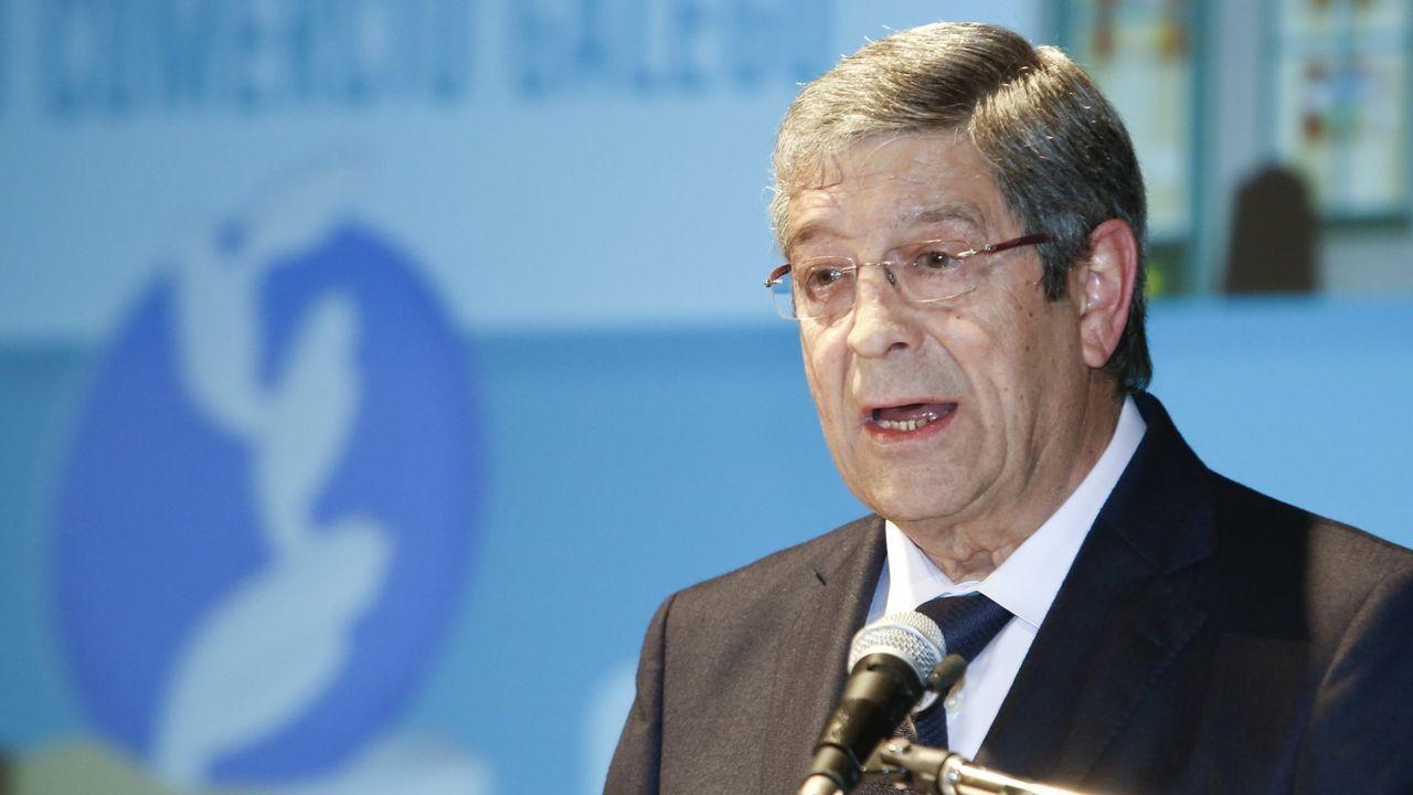 Así arrancó la Festa do Comercio Prima20.José María Seijas, presidente de la Federación Galega de Comercio