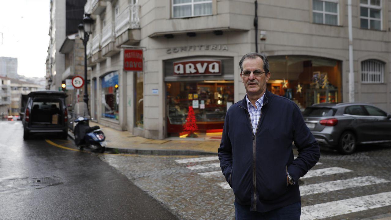 Miguel-Anxo Murado, retratado en Madrid, onde reside
