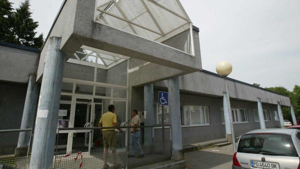 El centro de salud de Cuntis, en una imagen de archivo