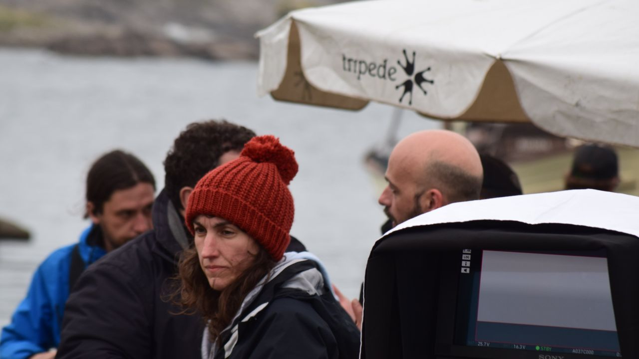 Paula Cons, directora e guionista da película sobre as heroínas de Sálvora e Santa Isabel