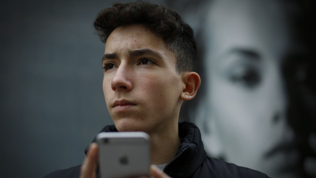 DANIEL GARCÍA, USUARIO DE REDES SOCIALES DE 15 AÑOS