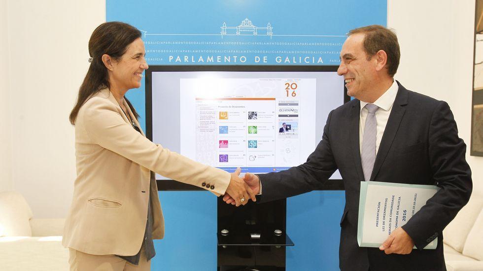 La letra pequeña de los presupuestos gallegos.La Xunta quiere destinar a Sanidad el superávit presupuestario. En la imagen, el hospital de Vigo