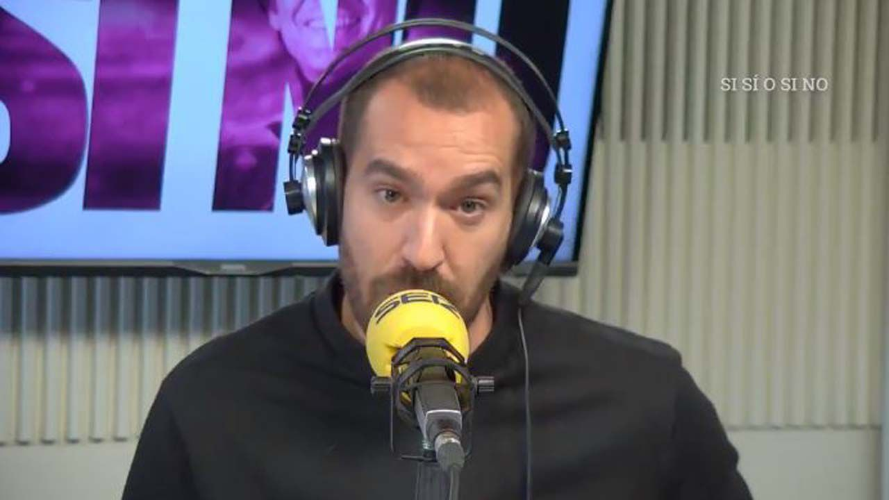 Jorge Ponce en el programa «Si sí, o si no»