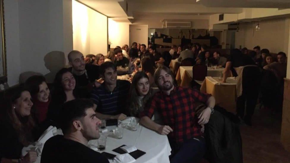 Ni Suiza ni Argentina, esta es la quinta provincia gallega.Imagen de archivo de una fiesta en el centro