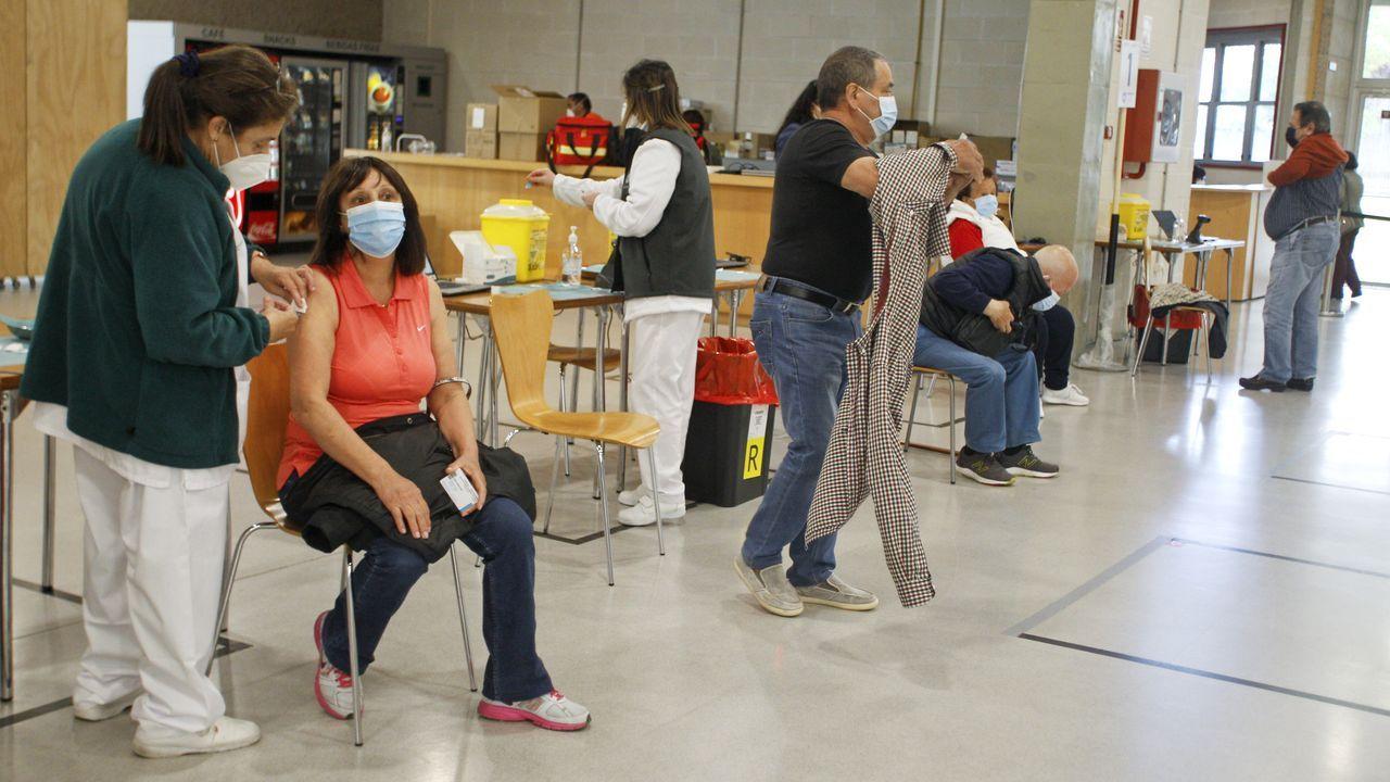 Jornada de vacunación en Fexdega.El cribado realizado en Barro el lunes y el martes se saldó sin positivos en covid