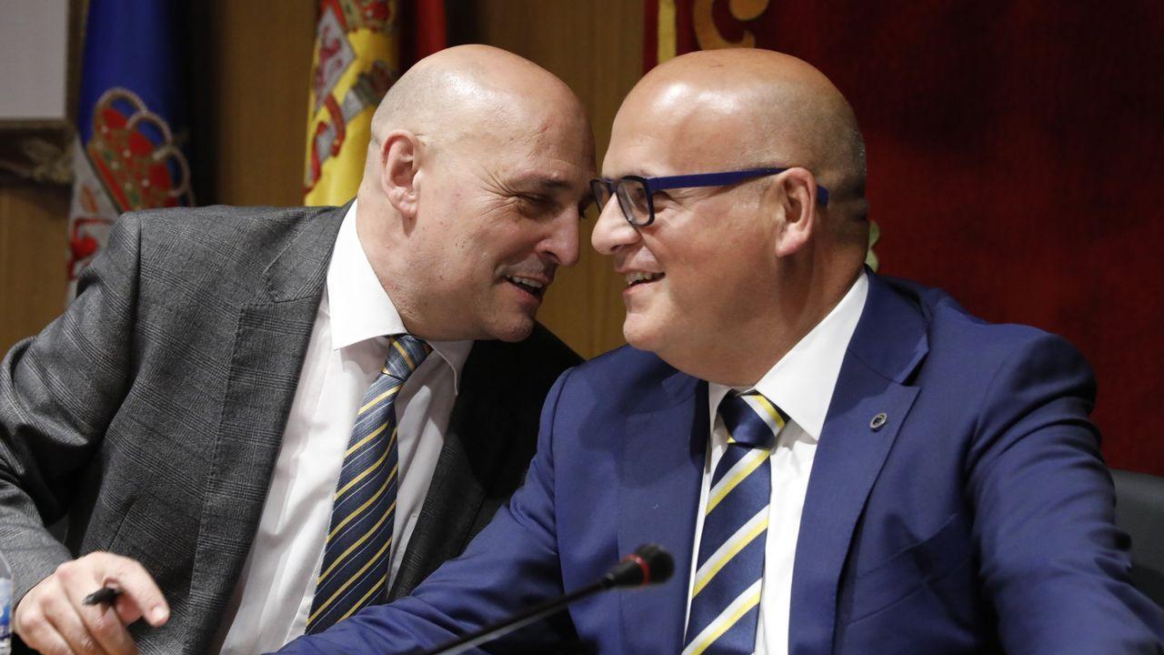 Armando Ojea y José Manuel Baltar, en una foto de archivo