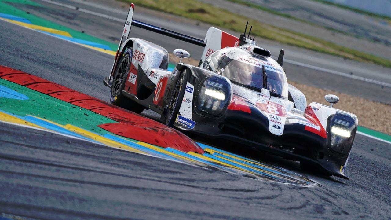 Alonso, Buemi y Nakajima en el podio de las 24 Horas de Le Mans
