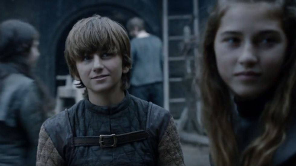 El joven Ned Stark