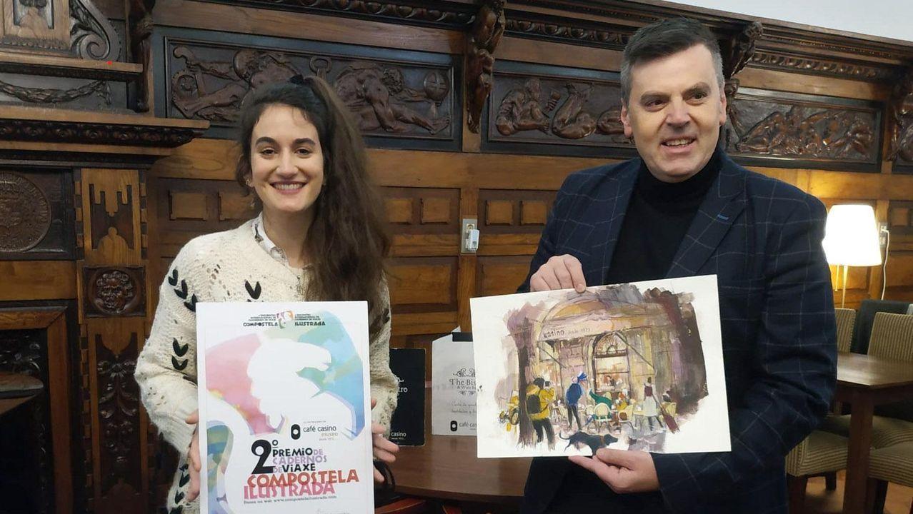 Ourense celebra los 41 años de la Constitución.El IES As Lagoas de Ourense tiene club de lectura desde hace años